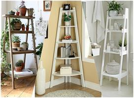 creative ways to decorate your home with ladders