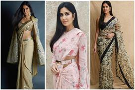 katrina kaif 10 saree for girlish-look