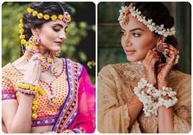 Floral Mathapatti designs for modern brides
