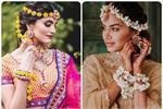 Trend Alert: प्री-वेडिंग फंक्शन के लिए एकदम परफेक्ट Floral Mathapatti