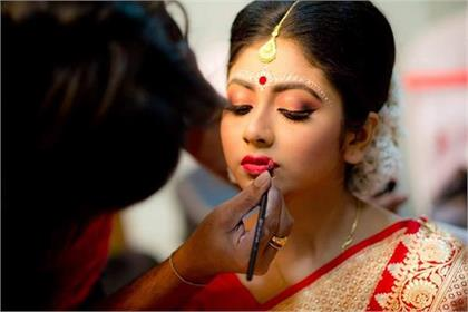 Lipstick Colors ideas for summer Bride Look