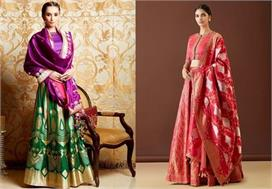 Banarasi Lehengas Designs For Festival and wedding