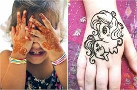 बच्चों के लिए भी चुनें खास मेहंदी डिजाइन्स, यहां से लीजिए...