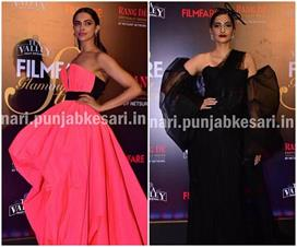 bollywood Actress stunning look in tea valley filmfare glamour and style awards