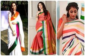 75वें स्वतंत्रता दिवस पर Tricolor साड़ी पहनकर दिखाएं आपना...