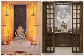 छोटे हो या बड़े, यहां देखिए Pooja Room के यूनिक डिजाइन्स