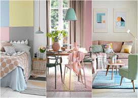 pastel color Home Decor Ideas