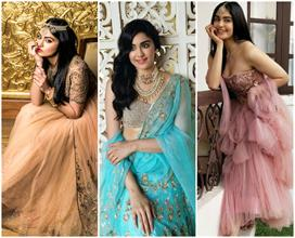 adah sharma lehengas collection