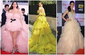 tulle fabric gown design for summer functions