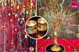 Home decor tips with old bangles