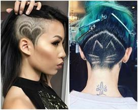 trendy undercut haircut designs for bold girls