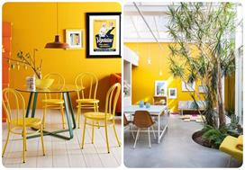 Yellow Accent Wall Ideas To Keep Your Mood