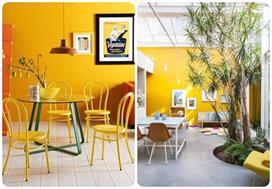 Yellow का टच दीवारों को देगा मॉर्डन लुक को घर में भी आएगी...