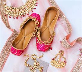 bridal footwear latest designs