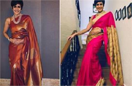 mandira bedi saree collection