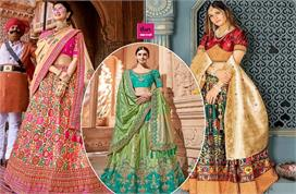 banarasi lehengas for wedding