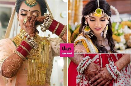 shell jewellery for bridal fashion