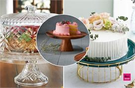 cake serving stand ideas