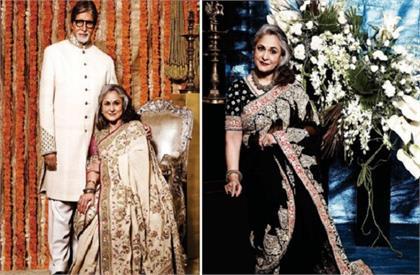 jaya bachchan saree collection