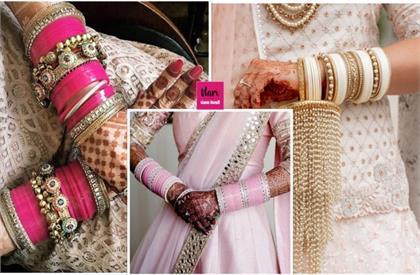 wedding chooda designs for brides