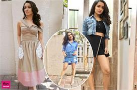 shraddha kapoors dresses is perfect for college girls