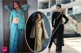 saree draping different styles