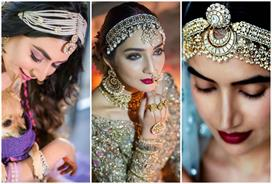 beautiful matha patti designs for brides