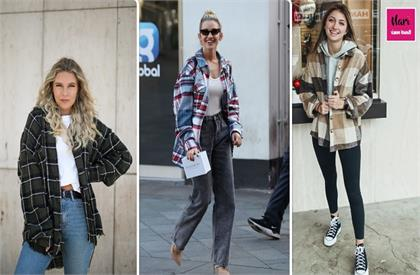 check shirt trend for girls
