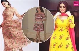 floral prints dress collection
