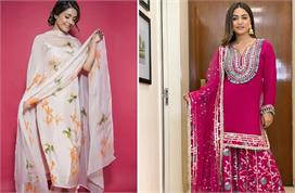 hina khan traditional outfits collection