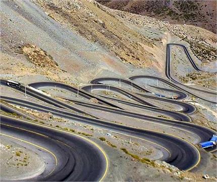 रोमांचक तस्वीरें, दुनिया की सबसे खतरनाक सड़क, दूर-दूर से देखने आते...