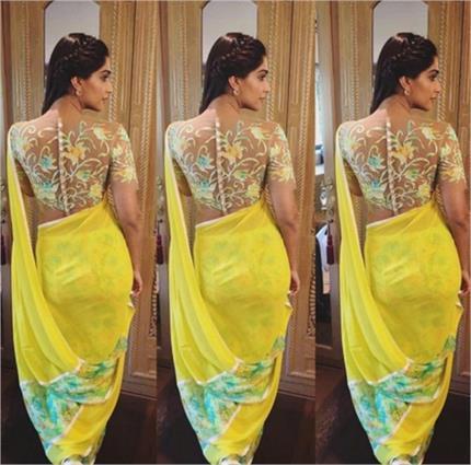 Floral saree पहन कर खुद को दिखाएं Stylish (PICS)