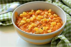 रेसिपी में बच्चों को बना कर दें स्वीट कॉर्न की सब्जी (pics)