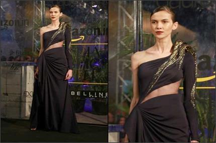 अमेज़न इंडिया फैशन वीक की तस्वीरों में देखें डिजाइनर कलेक्शन