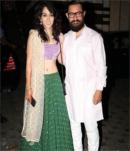 आमिर की बेटी ईरा का Charming Look