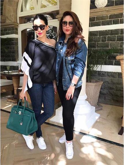 एक बार फिर आउटिंग करती नजर आईं Kapoor Sisters, दिखा स्टाइलिश लुक
