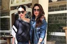 एक बार फिर आउटिंग करती नजर आईं Kapoor Sisters, दिखा...