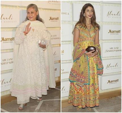 बेटी श्वेता के साथ फैशन शो में पहुंची जया बच्चन, एेसा था ड्रैसिंग...