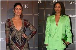 Vogue Awards: करीना ने दिखाई डीप क्लीवेज तो ओवरसाइज्ड पेंटसूट पहन पहुंची मसाबा