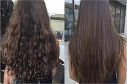 बालों को  Straight करने के लिए इस्तेमाल करें होममेड जेल