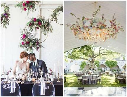 शादी में इन यूनिक स्टाइल से करें Chandeliers Decoration - Nari