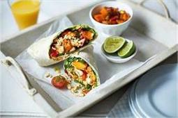 घर पर बनाएं मेक्सिकन वेजिटेबल बरीटो