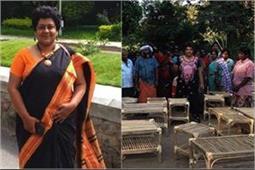 जंगली घास से महिलाओं को रोजगार दे रहीं हैं माया महाजन