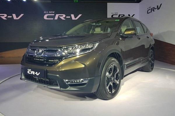 भारत में लांच हुअा Honda CR-V SUV का नया मॉडल, जानें कीमत और फीचर्स