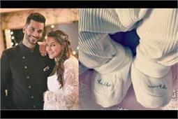 अंगद बेदी के पिता ने शेयर की बेबी गर्ल की पहली तस्वीर