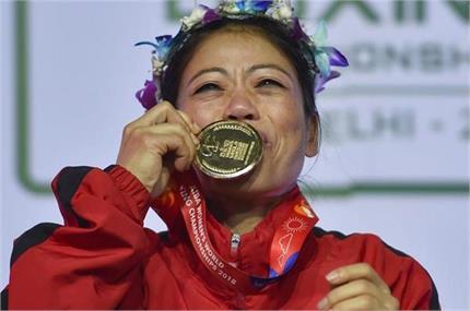 World Record: भारतीय बॉक्सर मैरी कॉम बनीं 6 मैडल जीतने वाली पहली महिला