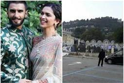 Deepveer Wedding: शुरू हो गईं शादी की डेकोरेशन, देखिए तस्वीर