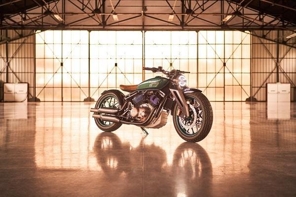 EICMA 2018: रॉयल एनफील्ड ने पेश की शानदार Concept KX बाइक, देखें तस्वीरें