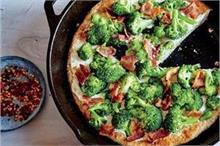 बच्चों के लिए बनाएं टेस्टी एंड हेल्दी Broccoli Cheese Pizza