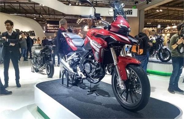 EICMA 2018 के दौरान पेश हुई Benelli TRK 250 एडवेंचर टुअरर बाइक